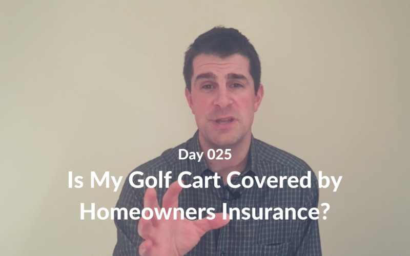 Is My Golf Cart Covered by Homeowners Insurance?