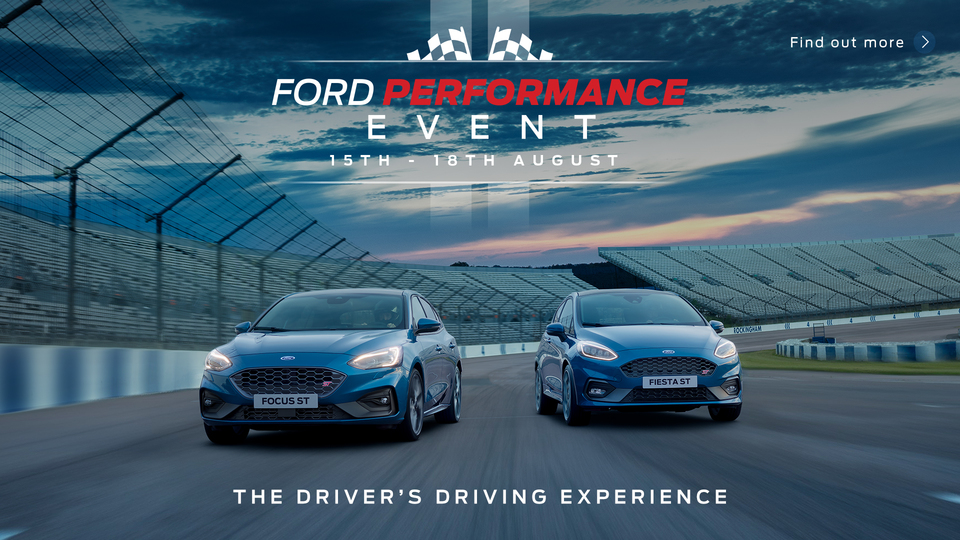 Ford Performance Event 15th - 18th August 2019
