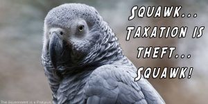 Taxation Parrot