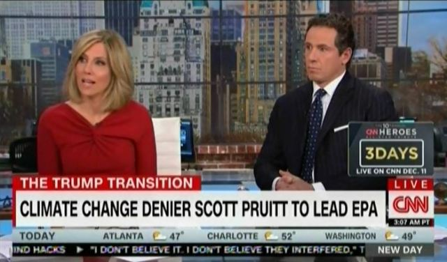Scott Pruitt is a denier