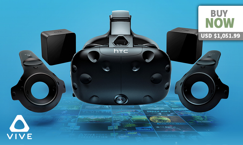 HTC Vive Virtual Reality System2-4d