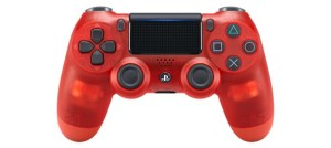New DualShock 4 CUH-ZCT2 Series (Red Crystal)