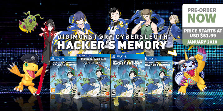 Find the Truth in Digimon Story: Cyber Sleuth - Hacker's