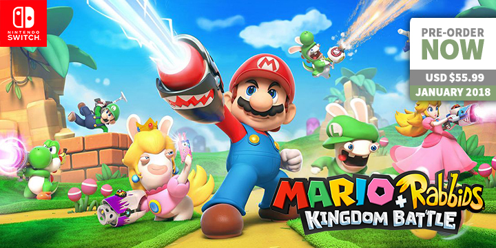Play-Asia.com, Mario + Rabbids Kingdom Battle, Mario + Rabbids Kingdom Battle Japan, Mario + Rabbids Kingdom Battle Nintendo Switch, Mario + Rabbids Kingdom Battle gameplay, Mario + Rabbids Kingdom Battle price, Mario + Rabbids Kingdom Battle features, Mario + Rabbids Kingdom Battle release date