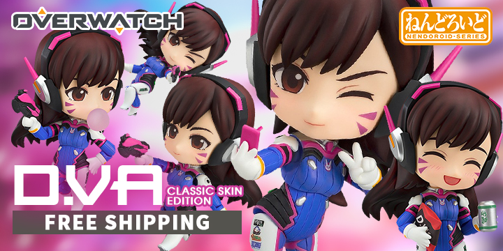 NENDOROID NO. 847 OVERWATCH: D.VA CLASSIC SKIN EDITION