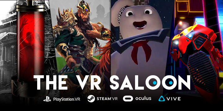 The VR Saloon: Races, Ghosts, and Gods on PSVR or SteamVR