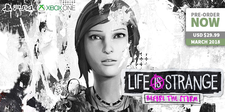 play-asia.com, Life is Strange: Before the Storm, Life is Strange: Before the Storm PlayStation 4, Life is Strange: Before the Storm Xbox One, Life is Strange: Before the Storm US, Life is Strange: Before the Storm release date, Life is Strange: Before the Storm price, Life is Strange: Before the Storm gameplay, Life is Strange: Before the Storm features