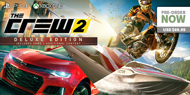 UPDATED: The Crew Is Back! - The Crew 2 On PS4 & XONE