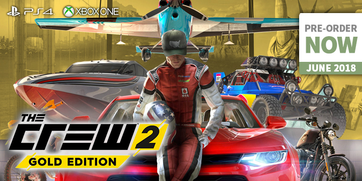 UPDATED: The Crew Is Back! - The Crew 2 On PS4 & XONE - Playasia Blog