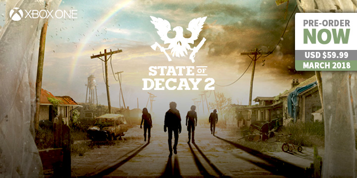 play-asia.com, State of Decay 2, State of Decay 2 Xbox One, State of Decay 2 US, State of Decay 2 EU, State of Decay 2 release date, State of Decay 2 price, State of Decay 2 gameplay, State of Decay 2 features