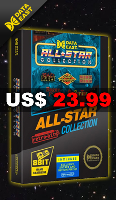 DATA ​​EAST ​​ALL ​​STAR ​​COLLECTION by Retro-Bit