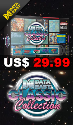 DATA ​​EAST ​​ALL ​​CLASSIC ​​COLLECTION by Retro-Bit