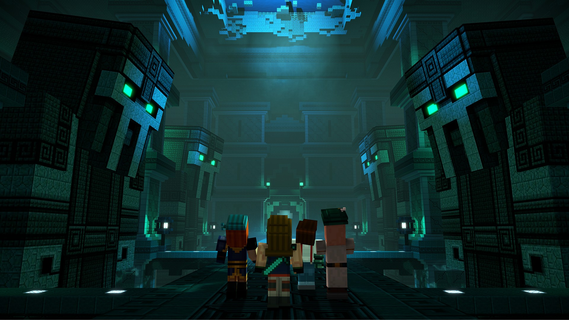 minecraft story mode the complete adventure ps4 gameplay