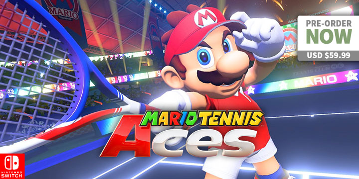 The Sporty Mario Is Back In Mario Tennis Aces On Switch