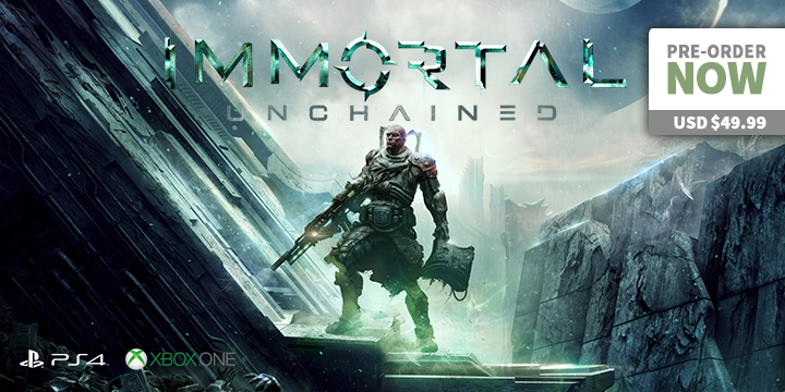 play-asia.com, Immortal: Unchained, Immortal: Unchained PlayStation 4, Immortal: Unchained Xbox One, Immortal: Unchained Europe, Immortal: Unchained release date, Immortal: Unchained price, Immortal: Unchained gameplay, Immortal: Unchained features
