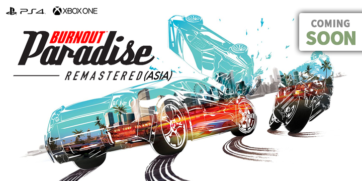 Play-Asia.com, Burnout Paradise Remastered, Burnout Paradise Remastered PlayStation 4, Burnout Paradise Remastered Xbox One, Burnout Paradise Remastered US, Burnout Paradise Remastered Europe, Burnout Paradise Remastered Japan, Burnout Paradise Remastered gameplay, Burnout Paradise Remastered features, Burnout Paradise Remastered release date, Burnout Paradise Remastered price