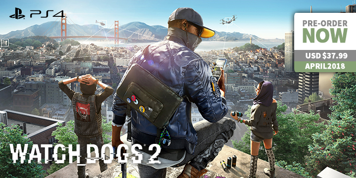 Play-Asia.com, Watch Dogs 2 (UBI the Best), Watch Dogs 2 (UBI the Best) Japan, Watch Dogs 2 (UBI the Best) PlayStation 4, Watch Dogs 2 (UBI the Best) release date, Watch Dogs 2 (UBI the Best) gameplay, Watch Dogs 2 (UBI the Best) price, Watch Dogs 2 (UBI the Best) features