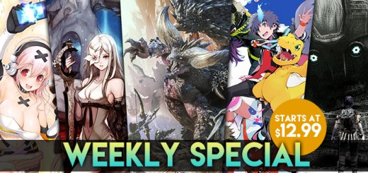 WEEKLY SPECIAL: Monster Hunter World, Shadow of the Colossus, Drakengard 3, and More!