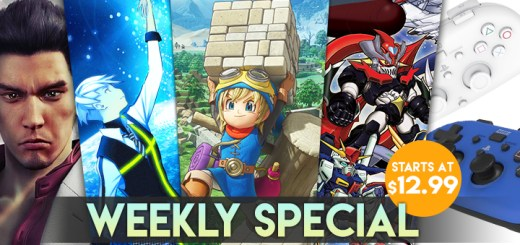 WEEKLY SPECIAL: Yakuza Kiwami, Super Robot Wars V, Dragon Quest Builders, and More!