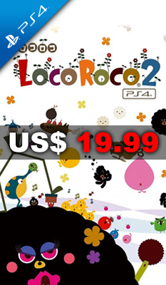 LOCOROCO 2 REMASTERED (ENGLISH & CHINESE SUBS) - PS4