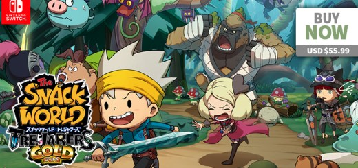 play-asia.com, The Snack World: Trejarers Gold, The Snack World: Trejarers Gold Nintendo Switch, The Snack World: Trejarers Gold Japan, The Snack World: Trejarers Gold release date, The Snack World: Trejarers Gold price, The Snack World: Trejarers Gold gameplay, The Snack World: Trejarers Gold features