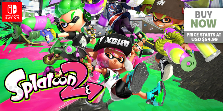 Play-Asia.com, Splatoon 2 [Starter Edition], Splatoon 2 [Starter Edition] US, Splatoon 2 [Starter Edition] Nintendo Switch, Splatoon 2 [Starter Edition] gameplay, Splatoon 2 [Starter Edition] features, Splatoon 2 [Starter Edition] release date, Splatoon 2 [Starter Edition] price