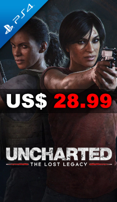UNCHARTED: THE LOST LEGACY - Sony Computer Entertainment