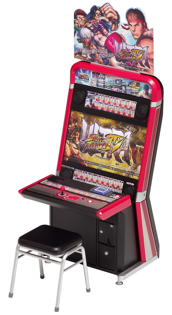 play-asia.com, street fighter, street fighter toys, street fighter collectibles, street fighter collector's items, Ultra Street Fighter IV 1/12 Scale Plastic Model Kit: Vewlix Game Machine