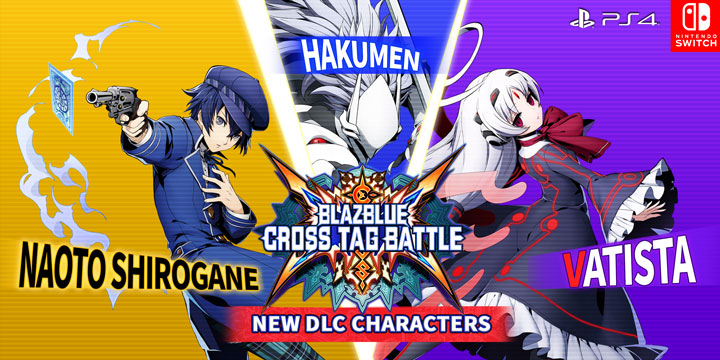 BlazBlue: Cross Tag Battle New DLC Characters Announced!