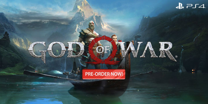 play-asia.com, God of war, God of war PlayStation 4, God of war US, God of war EU, God of war Japan, God of war Asia, God of war release date, God of war price, God of war gameplay, God of war features
