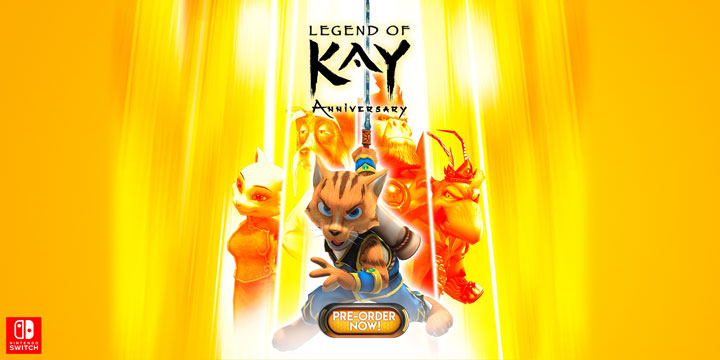 play-asia.com, Legend of Kay Anniversary, Legend of Kay Anniversary Nintendo Switch, Legend of Kay Anniversary EU, Legend of Kay Anniversary US, Legend of Kay Anniversary release date, Legend of Kay Anniversary price, Legend of Kay Anniversary gameplay, Legend of Kay Anniversary features