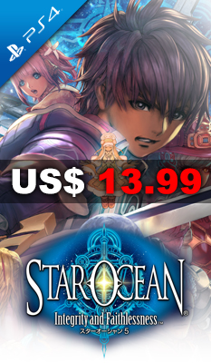 STAR OCEAN: INTEGRITY AND FAITHLESSNESS Square Enix