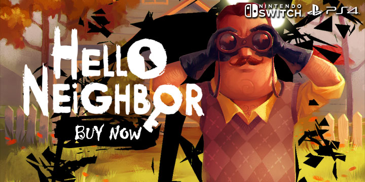 Hello Neighbor for PS4 and Switch Finally Gets its Official Release