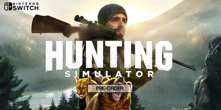 Play-Asia.com, Hunting Simulator, Hunting Simulator Switch, Hunting Simulator US, Hunting Simulator Europe, Hunting Simulator gameplay, Hunting Simulator features, Hunting Simulator release date, Hunting Simulator screenshots