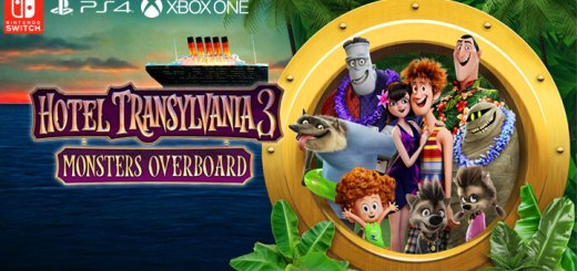 Hotel Transylvania 3: Monsters Overboard, PS4, XONE, Swith, US, Europe, gameplay, features, release date, price, trailer, screenshots