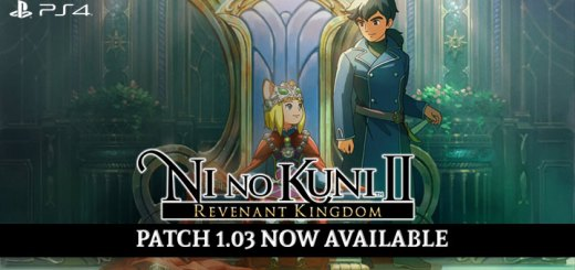 Ni No Kuni II: Revenant Kingdom, PlayStation 4, US, Europe, Asia, Japan, Patch 1.03, Update 1.03, Difficulty Modes, game, features, gameplay