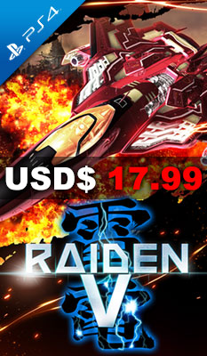 RAIDEN V: DIRECTOR'S CUT [LIMITED EDITION] UFO Interactive