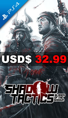 SHADOW TACTICS: BLADES OF THE SHOGUN Kalypso