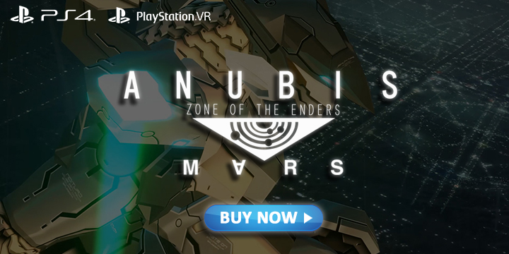Experience Konami's Anubis Zone of the Enders: Mars in PSVR This