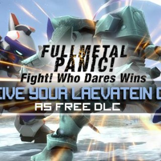 Full Metal Panic! Fight! Who Dares Wins, Full Metal Panic!, Asia, Japan, gameplay, features, trailer, screenshots, game updates, updates, DLC, Laevatin (B), ARX-8 Laevatein