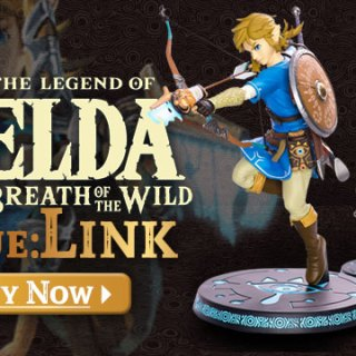 The Legend of Zelda, The Legend of Zelda: Breathe of the Wild, The Legend of Zelda Breath of the Wild Statue, The Legend of Zelda Breath of the Wild Statue: Link, Nintendo, US, First4Figures, features, screenshots, Link, Toys