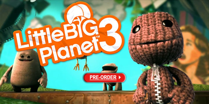 LittleBigPlanet 3, playstation hits, ps4, asia, sony computer entertainment, gameplay, features, trailer