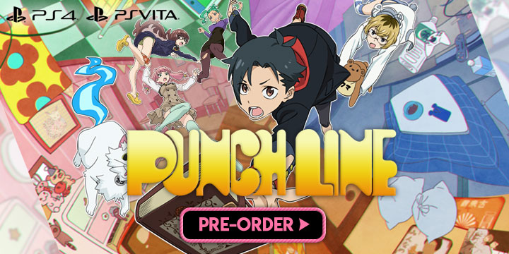 Punch Line, PlayStation 4, PlayStation Vita, release date, Europe, price, gameplay, features, game