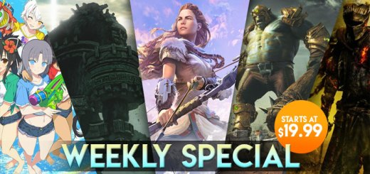 WEEKLY SPECIAL: Dark Souls III, Shadow of the Colossus, Senran Kagura: Peach Beach Splash, & More!