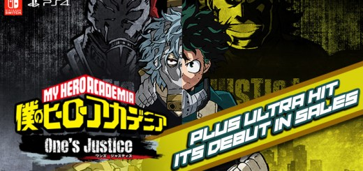 Boku no Hero Academia, Boku no Hero Academia: One's Justice, PS4, Switch, Japan, gameplay, features, trailer, screenshots, update, sales, 僕のヒーローアカデミア One's Justice