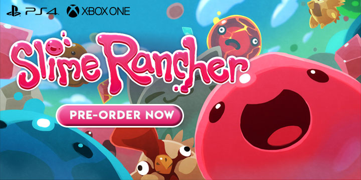 Slime Rancher: Confirmed for a Physical Edition for PS4