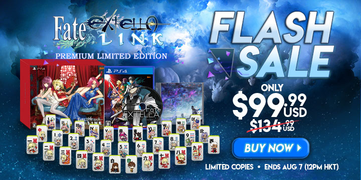 FLASH SALE: Fate/Extella Link For Only $99 99 (Was $134 99)