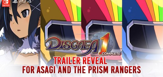 Disgaea 1 Complete, Makai Senki Disgaea Refine, Nintendo Switch, PlayStation 4, Japan, Asia, North America, Europe, Australia, release date, price, gameplay, features, new trailers, update, Asagi and the Prism Rangers trailer