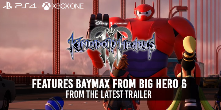 Kingdom Hearts III, Kingdom Hearts III, TGS 2018, TGS, Tokyo Game Show, Tokyo Game Show 2018, Square Enix, XONE, PS4, US, Europe, Australia, Japan, update, trailer, BayMax trailer, features, screenshots, gameplay