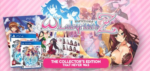 Omega Labyrinth Z, PS4, PS Vita, Japan, Asia, gameplay, features, trailer, screenshots, updates, Collector's Edition, update